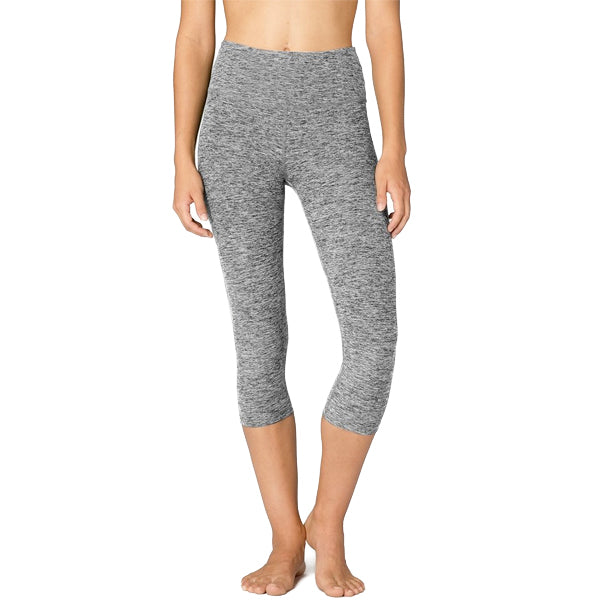 Women's Spacedye High Waisted Capri Legging featured view