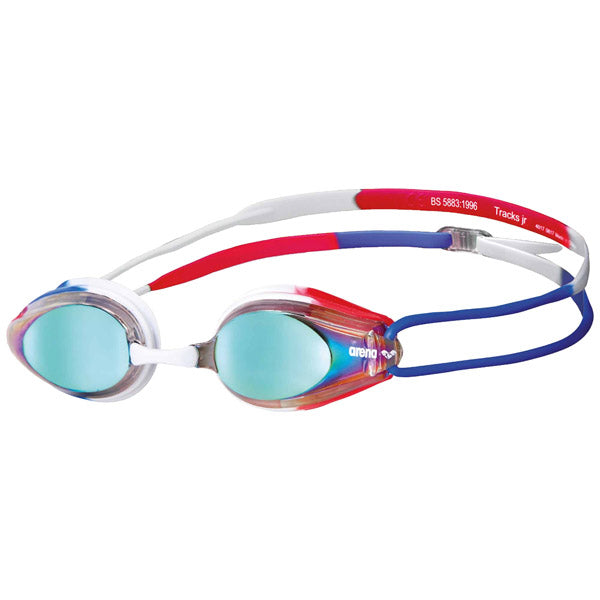 Track Jr. Mirror - Gold/Blue/Red