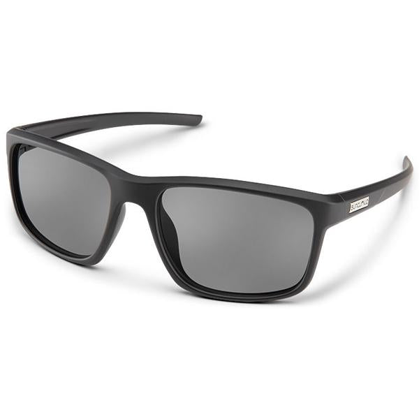Respek - Matte Black / Gray Polarized