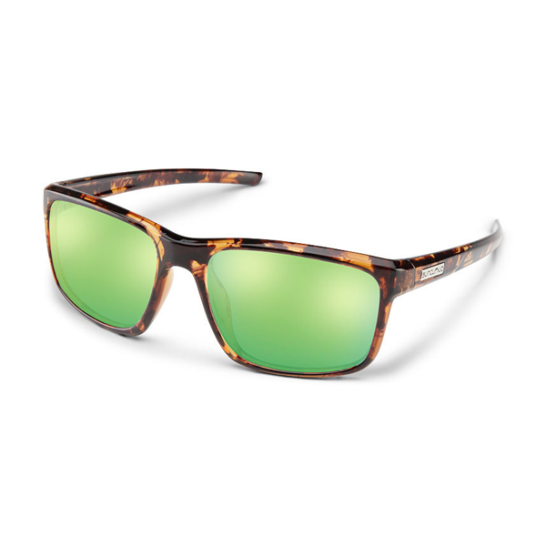 Respek - Tortoise / Green Mirror Polarized