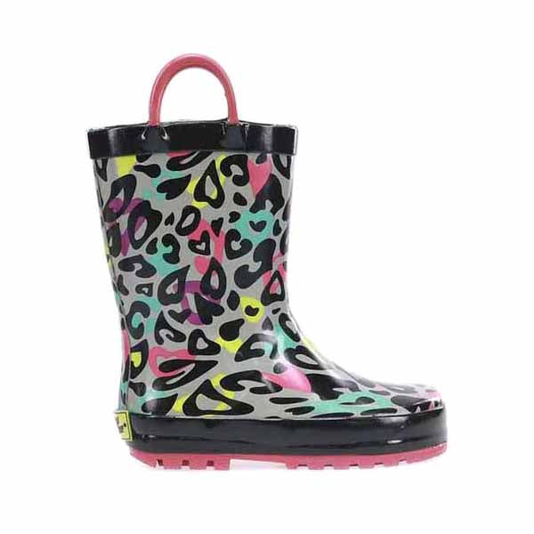 Western Chief Youth Groovy Leopard Rainboot (5-10)