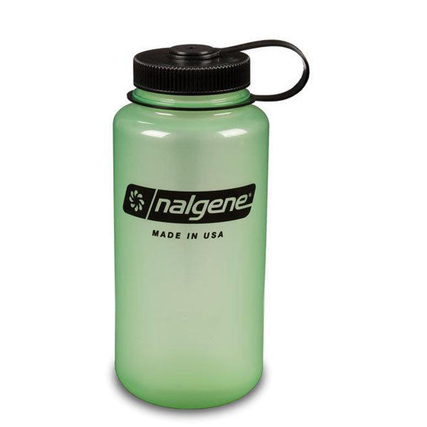 Tritan Wide Mouth 32 oz - Green Glow