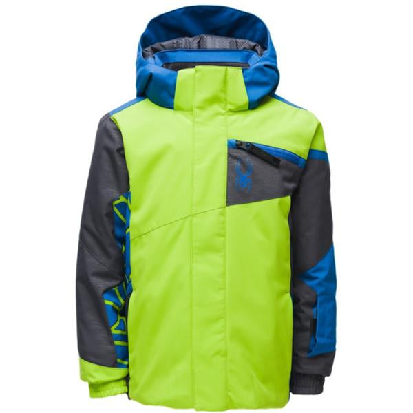 Spyder Boys' Mini Challenger Jacket - Toddler