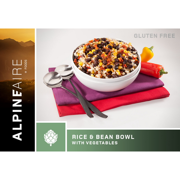 Rice & Beans Bowl with Vegetables (2 Servings)