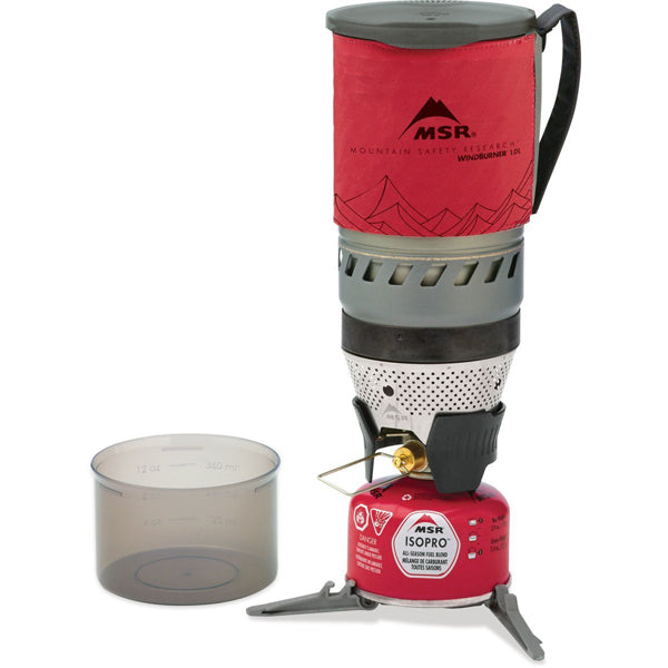 WindBurner Personal Stove System - Red alternate view