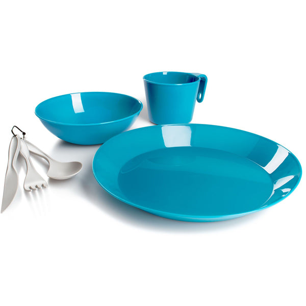 Cascadian 1 Person Table Set - Sky Blue