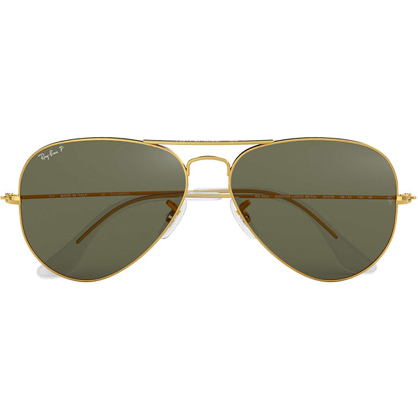 Aviator - Gold/Green Polarized