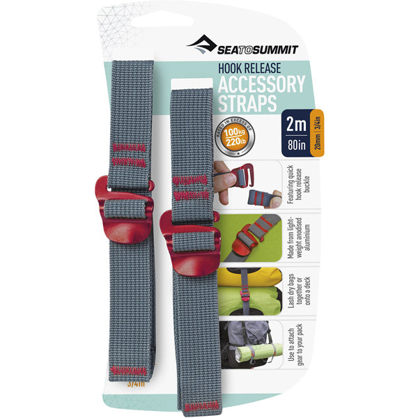 Accessory Straps w/ Hook Release - 80 in x 3/4 in featured view