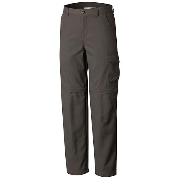 Boys' Silver Ridge III Convertible Pant - Grill featured view