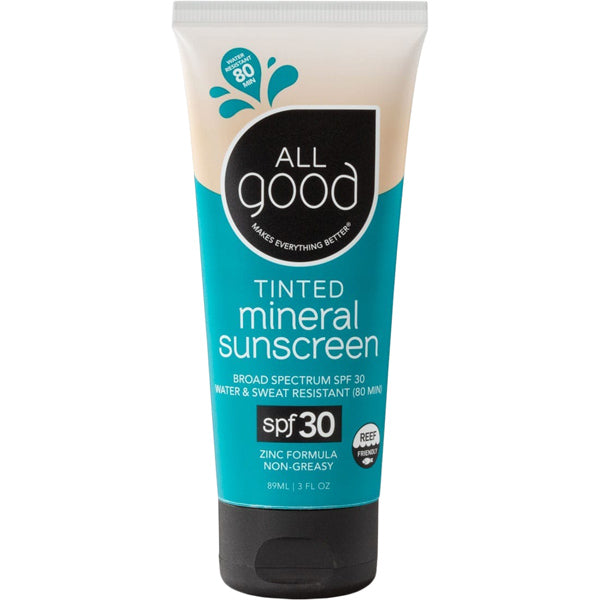 Tinted Mineral Sunscreen SPF 30 - 3 oz
