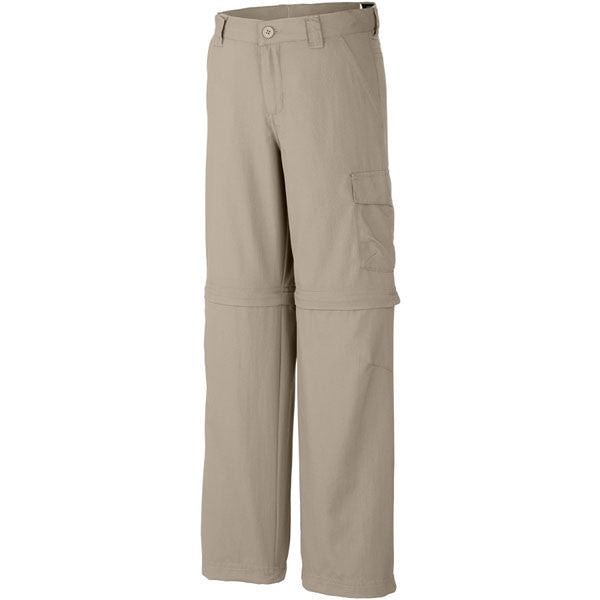 Boys' Silver Ridge III Convertible Pant - Fossil featured view