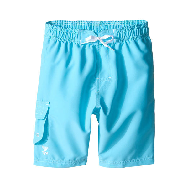 TYR Boys' Solids Challenger Swim Shorts