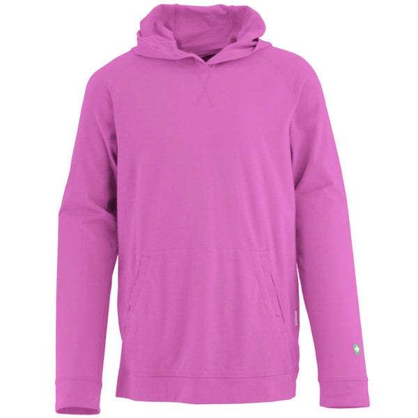 White Sierra Youth Bug-Free Jersey Hoody