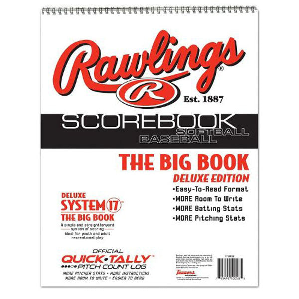 Big Book Baseball Scorebook