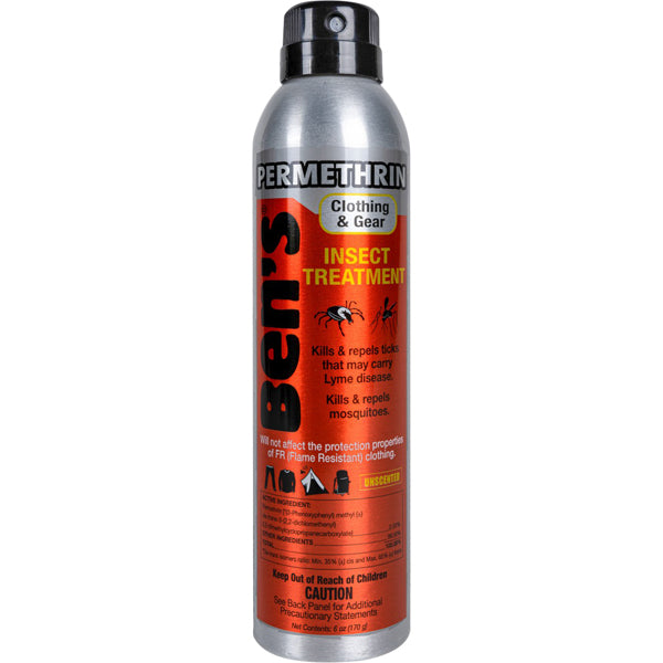 Ben's Clothing & Gear Permethrin Spray 6 oz