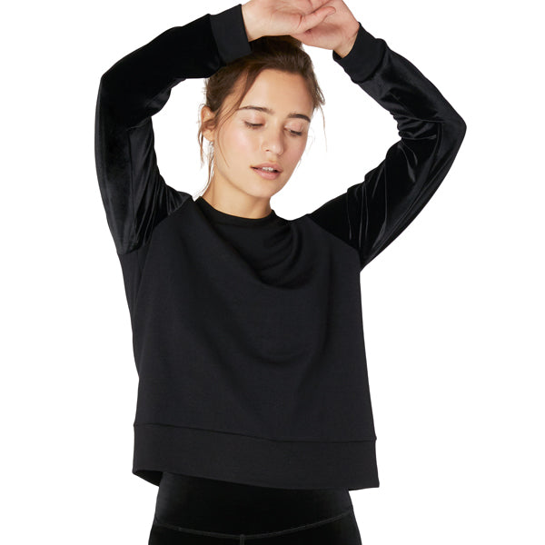 Women's Velvet Pullover featured view