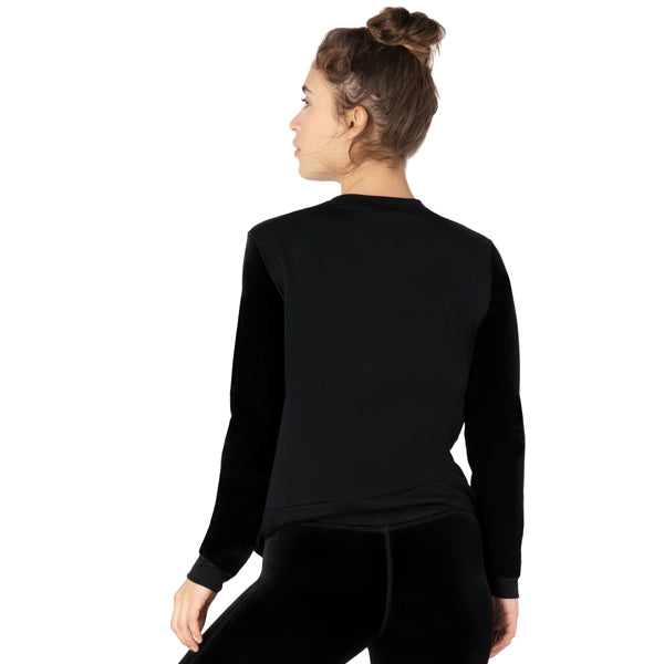 Women's Velvet Pullover alternate view