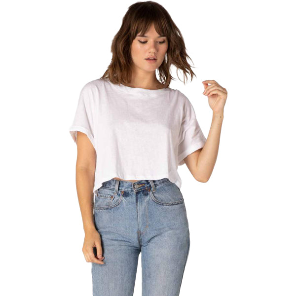 Beyond Yoga Women's Never Been Boxy Cropped Tee