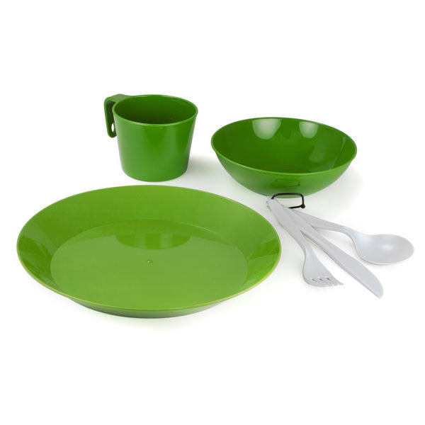 GSI Outdoors Cascadian 1-Person Table Set - Green