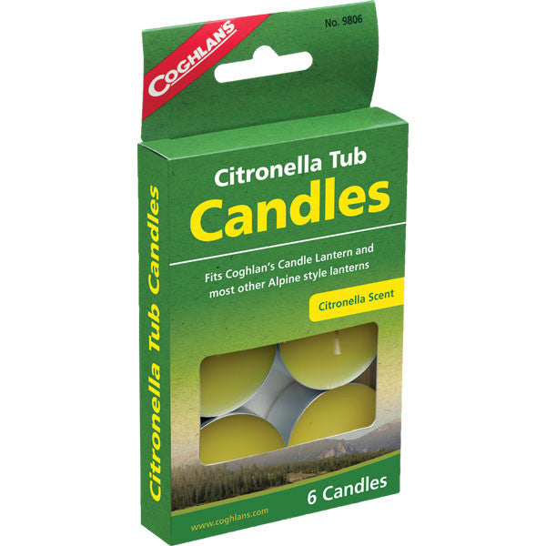 Citronella Tub Candles (6 Pack)