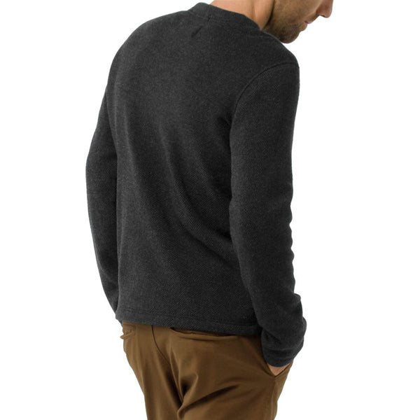Men's Hudson Trail Fleece Crew Sweater alternate view