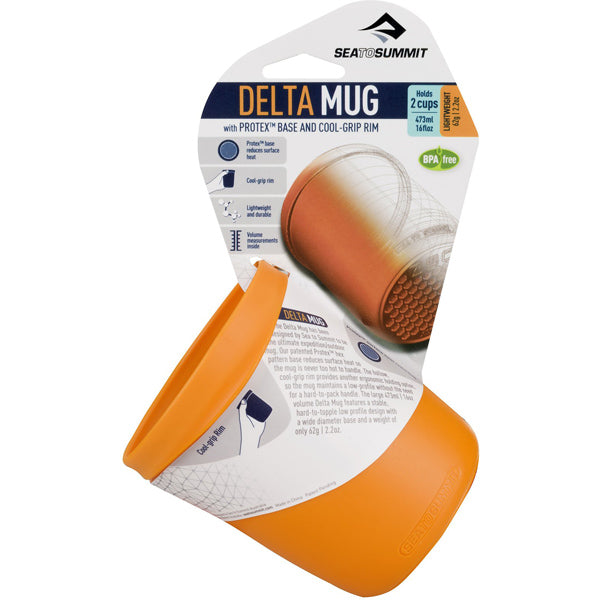 Delta Mug, Pindan Orange - 16oz