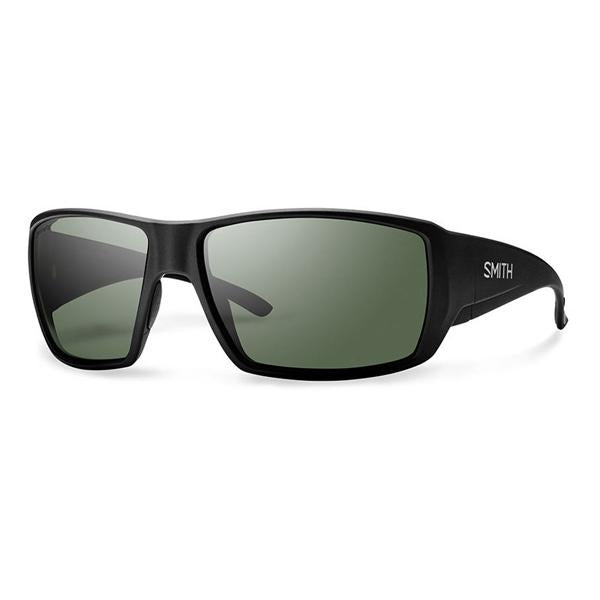 Guide's Choice - Matte Black Frame / ChromaPop Polarized Gray Green