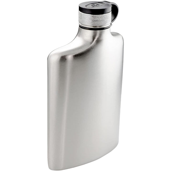 Glacier Stainless Hip Flask - 8 oz