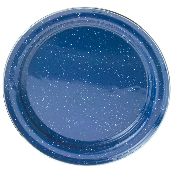 GSI Outdoors Plate with Stainless Rim - Blue