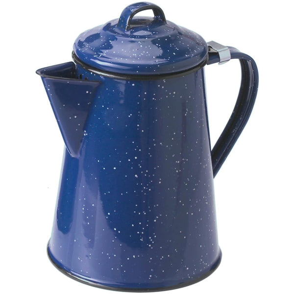 Enamelware Coffee Pot (8 Cups)