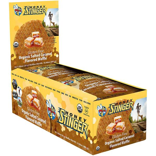 Honey Stinger Gluten Free Organic Waffles (16 Pack)