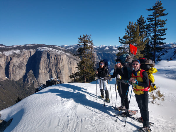 Snowshoeing Yosemite: Dewey Point Weekend