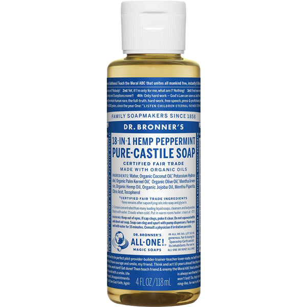 Pure-Castile Liquid Soap - 4 oz