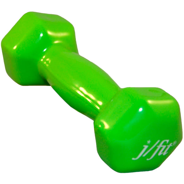 J/Fit Single Vinyl Dumbbell 3 lb