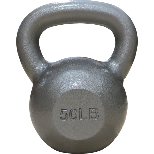 Cast Iron Kettlebell 50 lb featured view