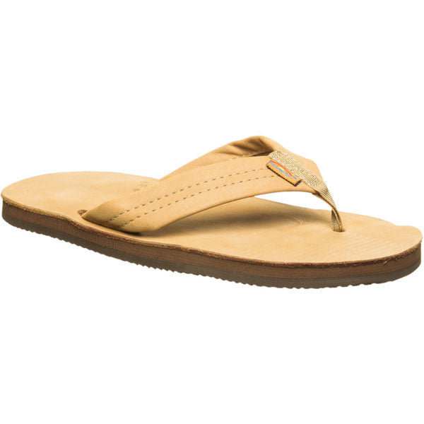 Rainbow Sandals Men's Premium Leather Wide Strap