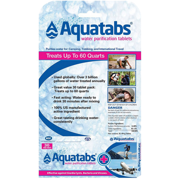 Aquatabs (30 Pack) featured view