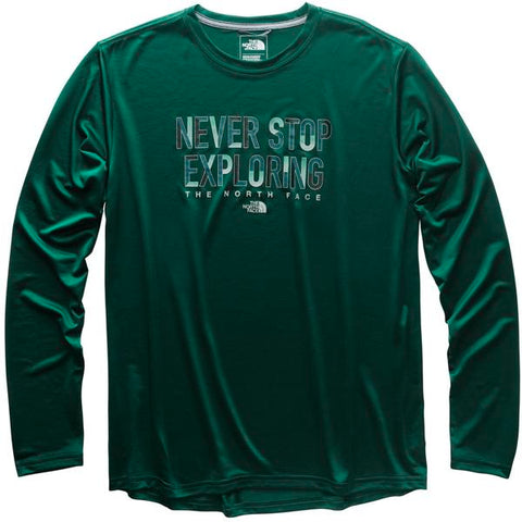 ee8a8a0dd The North Face Men's Long-Sleeve Reaxion Tee
