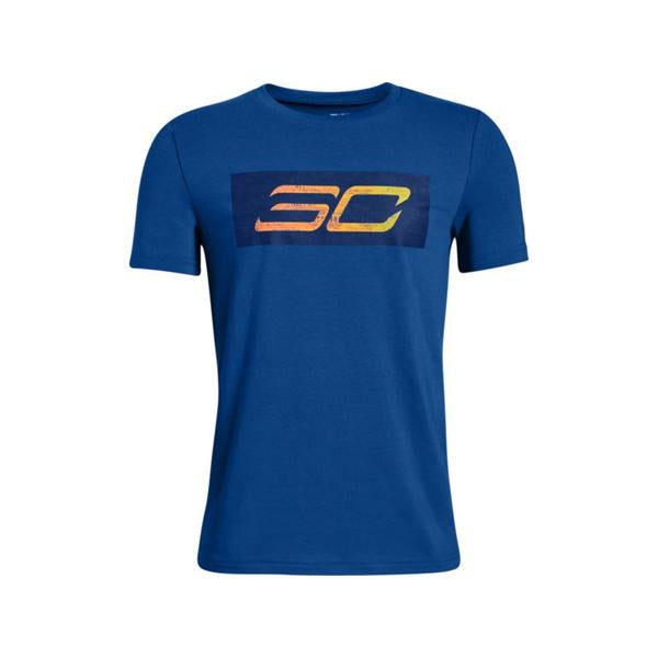 Under Armour Youth SC30 Logo Short Sleeve Tee