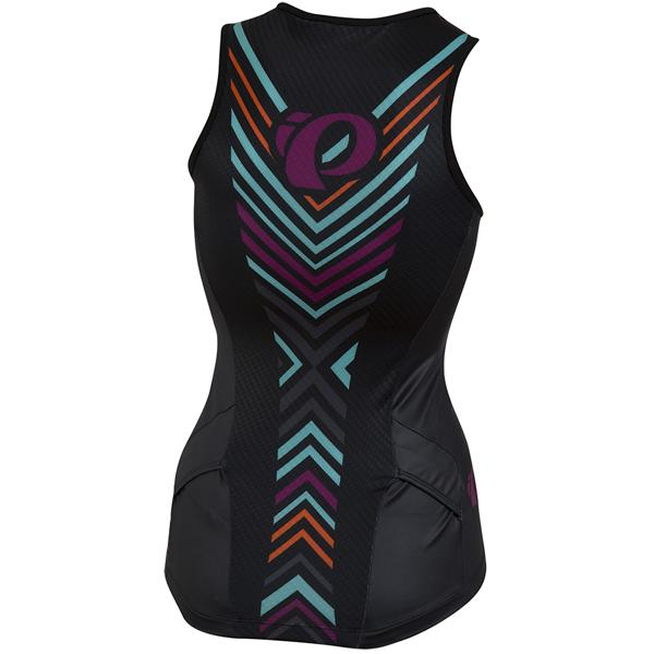 Women's Elite In-R-Cool LTD Tri Singlet - Psych Black alternate view