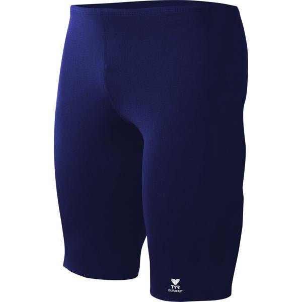 Boys' Durafast Elite Solid Jammer - Navy