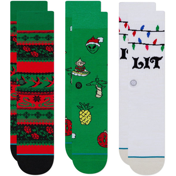 Stance Ornaments (3 Pack)