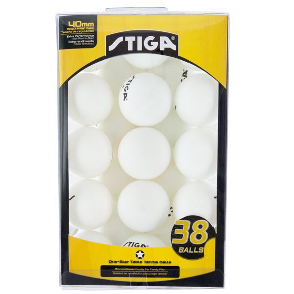 1-Star Table Tennis Balls (38 Pack)