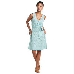 Women's Cue Wrap Sleeveless Dress