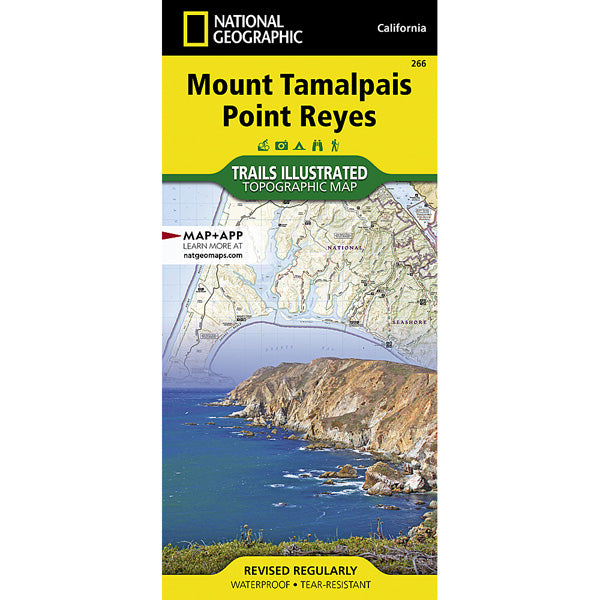 Mount Tamalpais, Point Reyes Map
