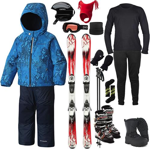 Sports Basement Rentals The Works Package - Toddler's Ski