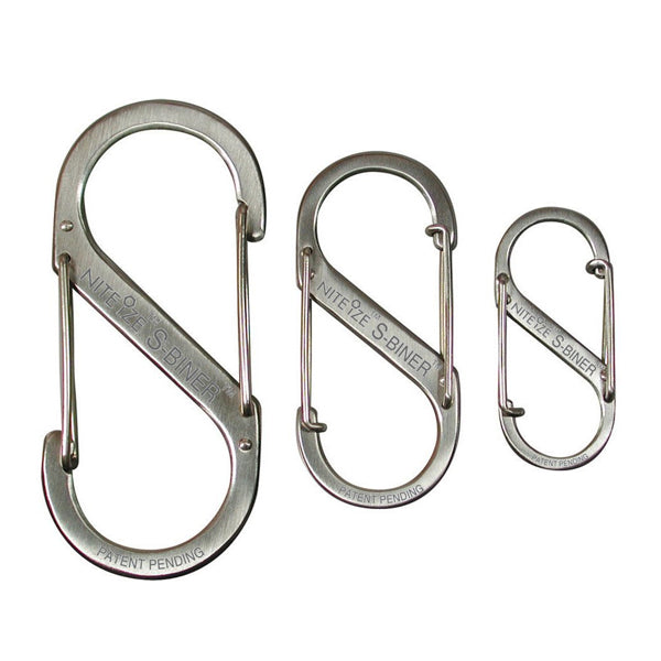 S-Biner-3 Pack-Stainless