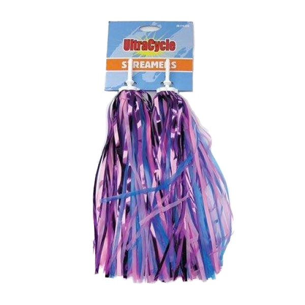 Streamers Pink/Purple/Peach/Blue