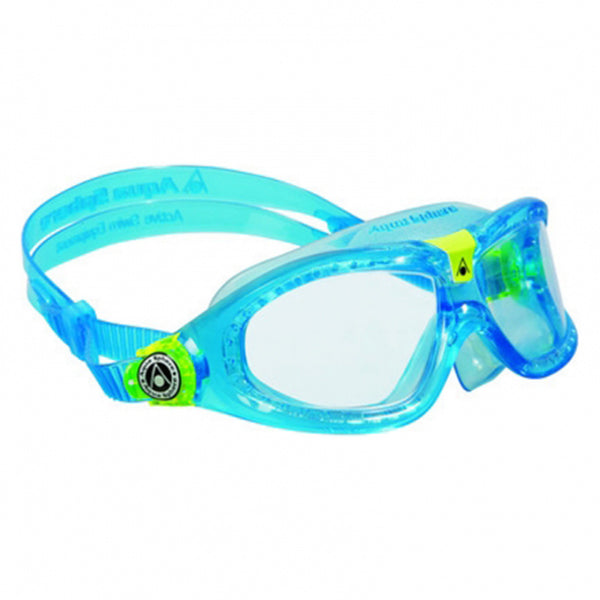 Seal Kid 2 Goggles - Aqua & Lime/Clear