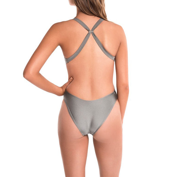 Women's Long Course X-Life Lycra One-Piece alternate view